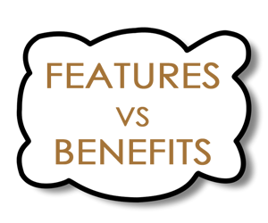 feature vs benefits